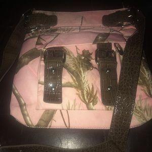 real tree camo purse